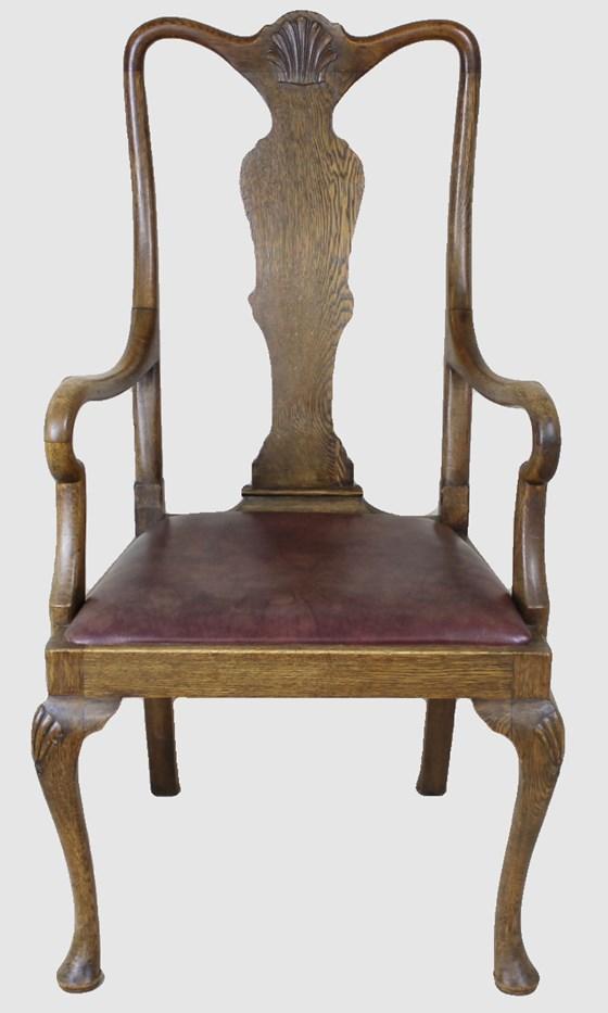Edwardian Splat Back Armchair