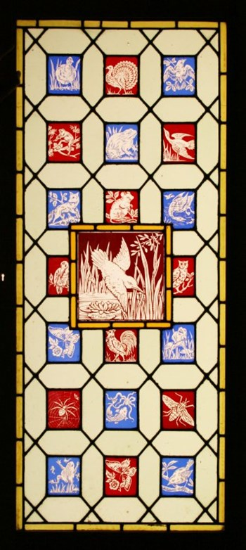 Victorian stained glass - Arts & Crafts